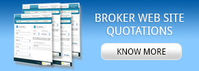 Broker Web site quotations